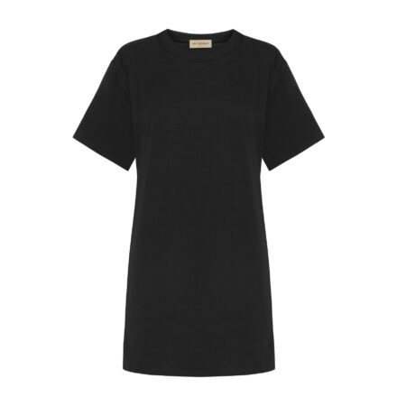 tshirt czarny długi