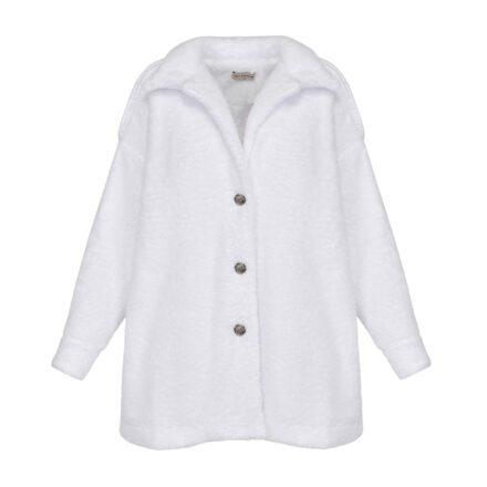 kurtka 1 biała przód