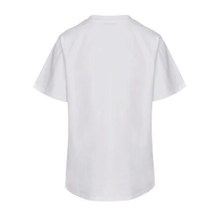 tshirt czasem dama czasem drama biały tył