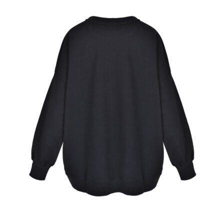 bluza 4 czarna tył