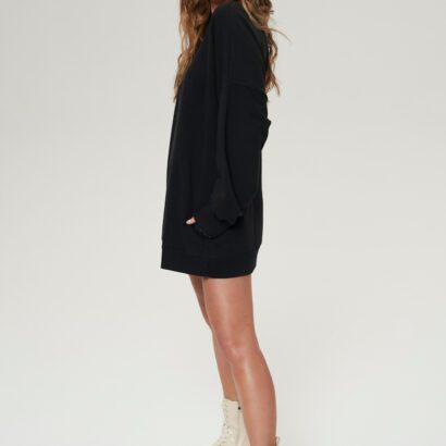 bluza oversize 4 czarna