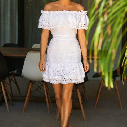 sukienka 2 biała
