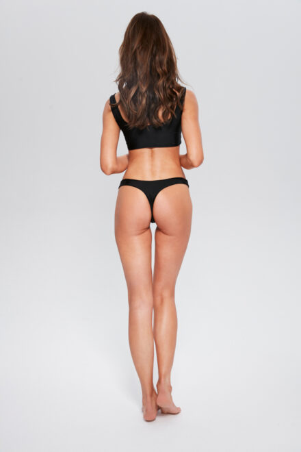 dół od bikini top czarny