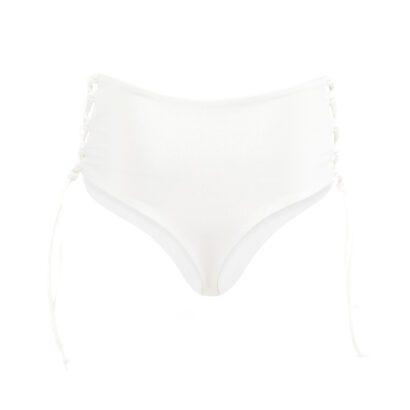 dół od bikini 9 biały tył