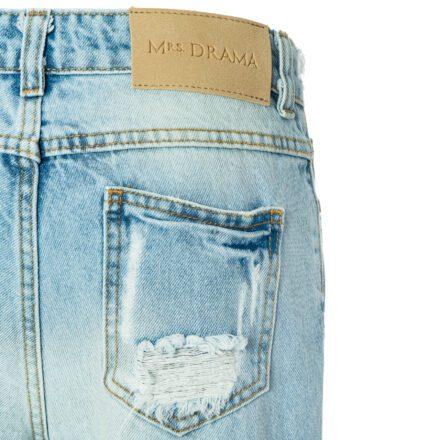 jeansy 2 kieszeń