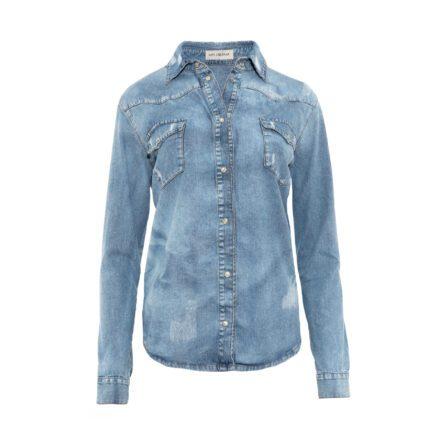 koszula 2 jeansowa przód
