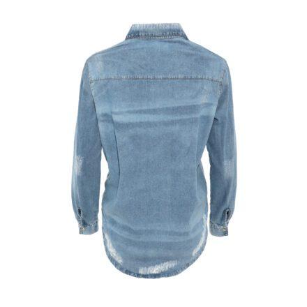 koszula 2 jeansowa tył