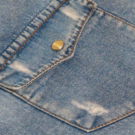koszula 2 jeansowa detal