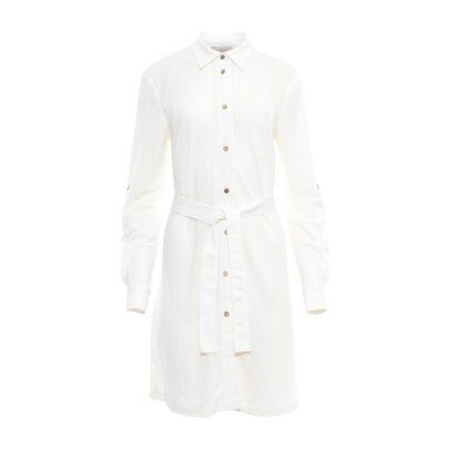 koszula długa biała przód