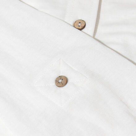 koszula długa detal