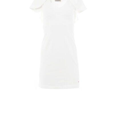 sukienka 4 biała krótka przód