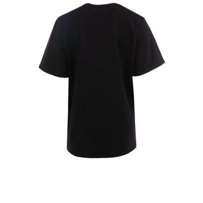 tshirt 2 z balonikiem krótki czarny tył cut