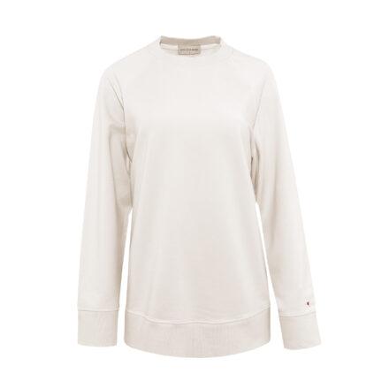 bluza ze spódnicą beżową przód
