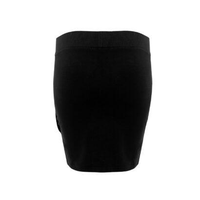 bluza ze spódnicą czarna spodnica tył
