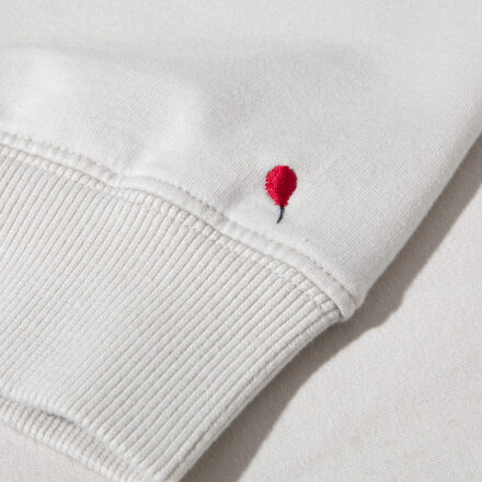 dres 4 beżowy bluza detal