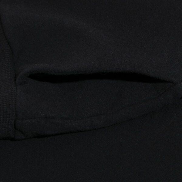 dres 4 czarny spodnie detal