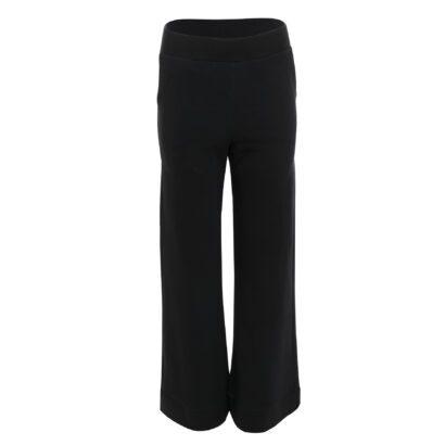 dres 4 czarny spodnie szerokie tył