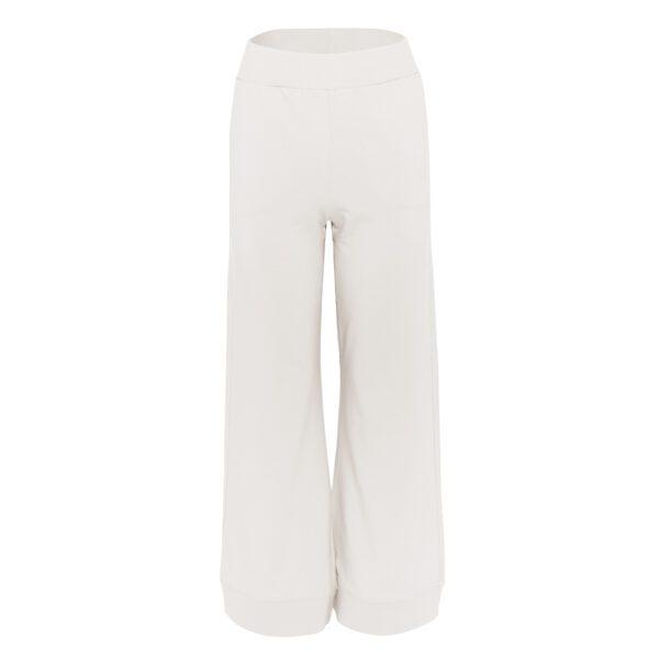 dres 4 beżowy spodnie szerokie przód