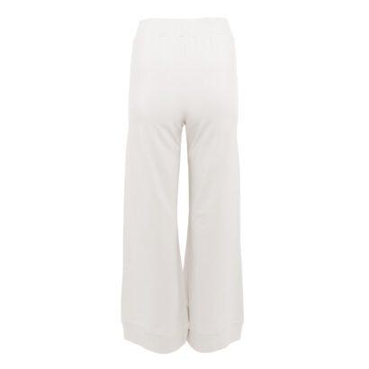 dres 4 beżowy spodnie szerokie tył