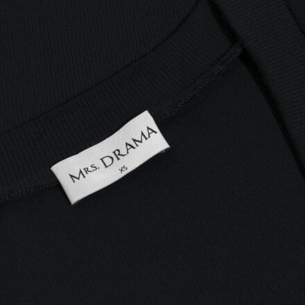 sukienka długa czarna metka