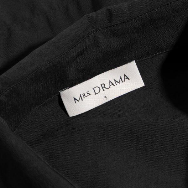 sukienka 8 czarna krótka metka